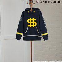 【STAND BY JOJO】ジョジョの奇妙な冒険 虹村億泰 パーカー(キッズサイズ)