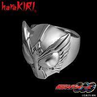 仮面ライダーオーズ×haraKIRI silver925 フェイスリング
