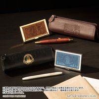 TIGER & BUNNY 本革ペンケース(ボールペン付)&ステンレスネームカードケースセット(全4種)【特典付】【PB限定】