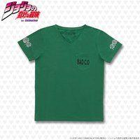 ジョジョの奇妙な冒険 ポケットTシャツ(バッド・カンパニー)