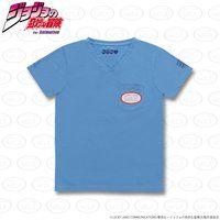 ジョジョの奇妙な冒険 ポケットTシャツ(アクアネックレス)