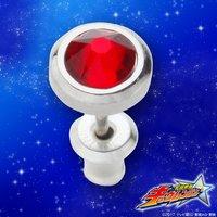 宇宙戦隊キュウレンジャー シシレッド/ラッキー silver925 ピアス・イヤリング