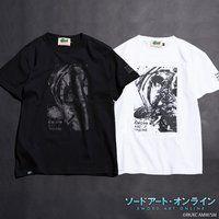 ソードアート・オンライン×墨絵師「御歌頭」×HTML ZERO3 Black Blast S/S Tee (Tシャツ キリト)