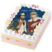 [キャラデコプリントケーキ ホワイトデー] TIGER & BUNNY