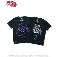 ジョジョの奇妙な冒険【glamb】Tシャツ クリーム【2018年4月お届け分】
