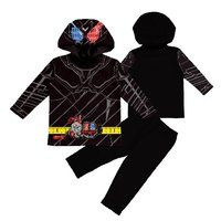 仮面ライダービルド 変身長袖パジャマ ラビットタンクハザードフォーム