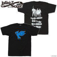 Infini-T Force(インフィニティ フォース)ロゴTシャツ(黒)ポリマー