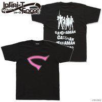 Infini-T Force(インフィニティ フォース)ロゴTシャツ(黒)キャシャーン