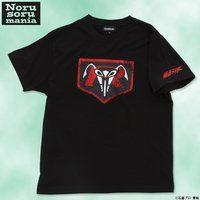 仮面ライダー×ノルソルマニア コラボTシャツ(立花レーシングクラブマーク柄)黒