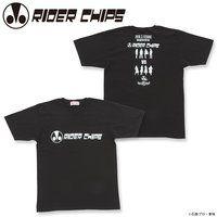 激突 RIDER CHIPS VS 仮面ライダーGIRLS 〜兄妹バトル〜 Tシャツ RIDER CHIPS ver.