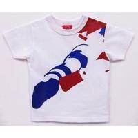 OJICO×仮面ライダー コラボレーションTシャツ ホワイト サイズ4A
