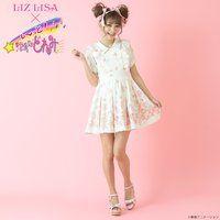 《LIZ LISA×おジャ魔女どれみ コラボ》 クッキー柄ワンピース