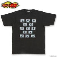仮面ライダー龍騎 ライダーベルト バックルデザインTシャツ