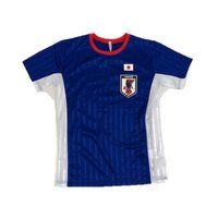 サッカー日本代表 ブライトスムース半袖Tスーツ