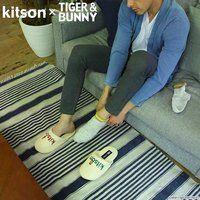 kitson × TIGER & BUNNY ルームシューズ&ポーチ ※オリジナルハンカチ付き