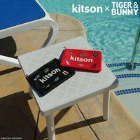 kitson × TIGER & BUNNY メッシュポーチ ※オリジナルハンカチ付き
