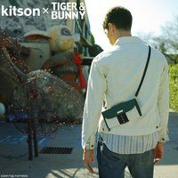kitson × TIGER & BUNNY サコッシュ ※オリジナルハンカチ付き