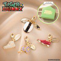 TIGER & BUNNY アクセサリーチャーム 4種セット グリーンボックス(虎徹/アントニオ/キース/パオリン)【再販売】