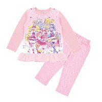 HUGっと!プリキュア ミライクリスタルはぐたん&ムーンアパレルオリジナルカラー付きパジャマ