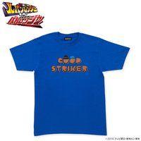 快盗戦隊ルパンレンジャーVS警察戦隊パトレンジャー  グッドストライカー柄Tシャツ ブルー