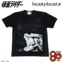 仮面ライダー×beauty:beast 石ノ森章太郎生誕80周年記念 Tシャツ「夜空と蝙蝠男」