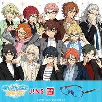 あんさんぶるスターズ!×JINS×BANDAI コラボレーションメガネ(送料無料)