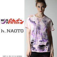深夜!天才バカボン×h.NAOTOコラボTシャツ(ピンク)