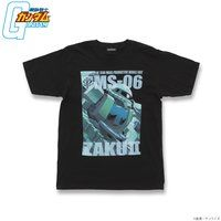 機動戦士ガンダム フルカラー Tシャツ MS-06 量産型ザク【2018年9月発送】