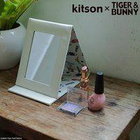 kitson × TIGER & BUNNY スタンドミラー&ミラーポーチ ※オリジナルハンカチ付き【2018年12月発送予定】