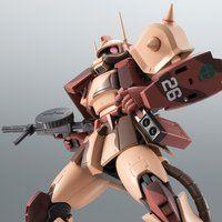 ROBOT魂 <SIDE MS> MS-06D ザク・デザートタイプ カラカル隊所属機 ver. A.N.I.M.E.