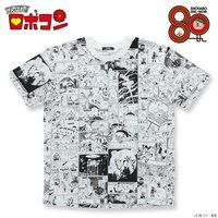 石ノ森章太郎生誕80記念 がんばれ!!ロボコン 漫画柄Tシャツ