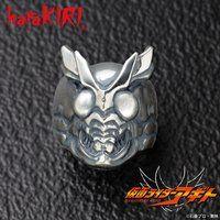 仮面ライダーアギト×haraKIRI silver925 フェイスリング アナザーアギト