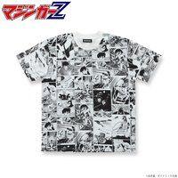 永井豪 画業50周年 漫画柄Tシャツ マジンガーZ