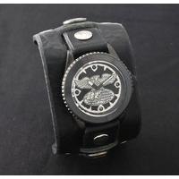 仮面ライダー ショッカー × Red Monkey Collaboration Wristwatch Silver925 High-End model 2015