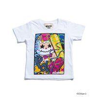 ちぃたん☆ 【glamb】 キッズTシャツ Mini smashing chiitan