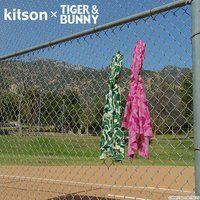 kitson × TIGER & BUNNY 大判ストール ※オリジナルハンカチ付き
