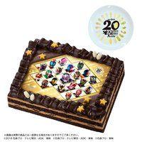[キャラデコプリントケーキ] 平成仮面ライダー20作品記念 スペシャルセット