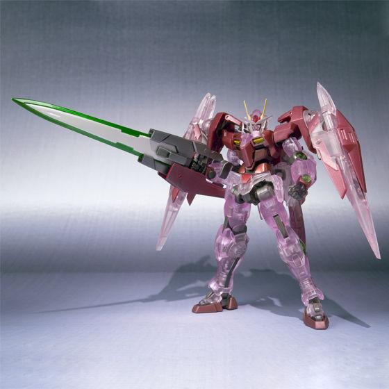 Robot魂 GN-0000+GNR-010 Trans-AM Raiser+GN剑Ⅲ