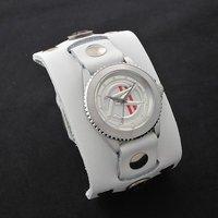 ���ʃ��C�_�[�}�b�n�~ Red Monkey Designs Collaboration Wristwatch Silver925 High-End Model
