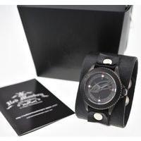 TIGER & BUNNY x red monkey designs Collaboration Wristwatch バーナビー・ブルックスJr. Black