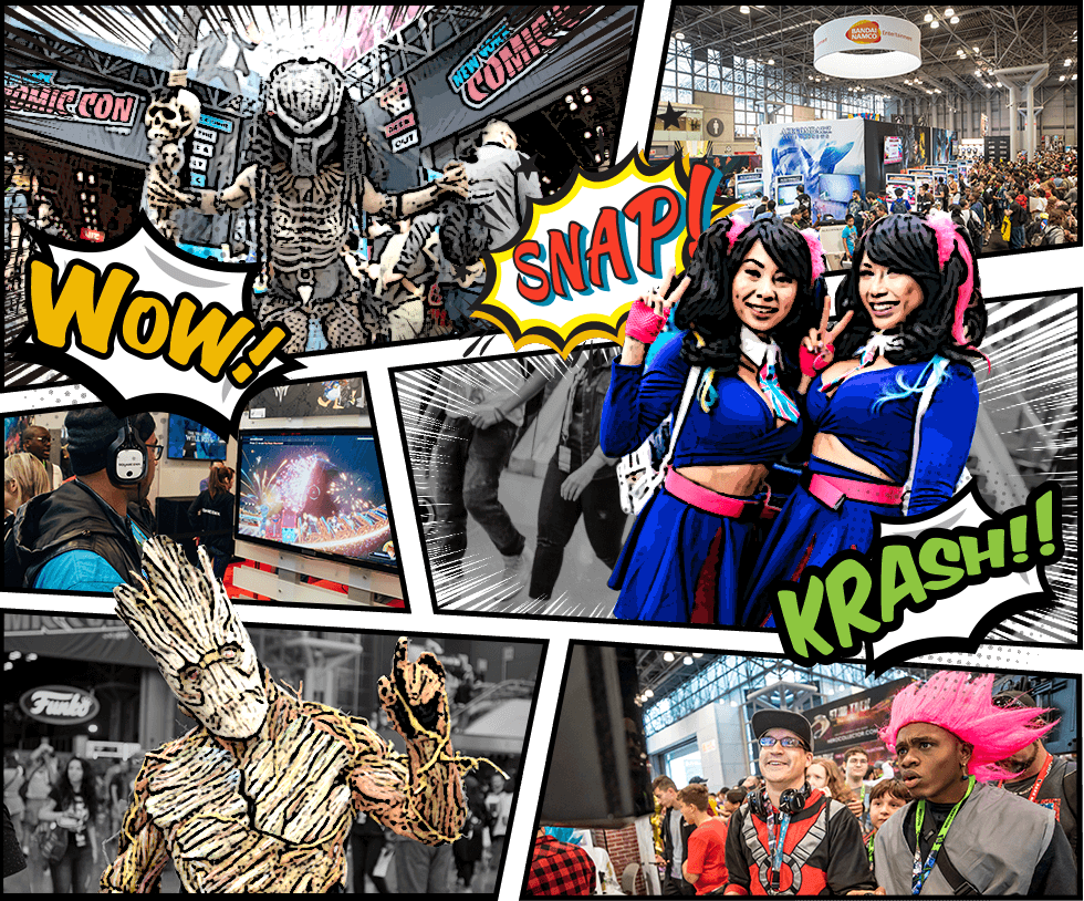 NEW YORK COMIC COM の様子