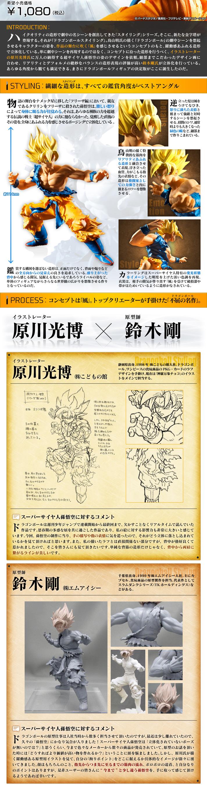 Dragonball Styling スーパーサイヤ人孫悟空