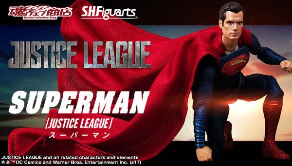 魂ウェブ商店 プレミアムバンダイ店  S.H.Figuarts スーパーマン (JUSTICE LEAGUE)