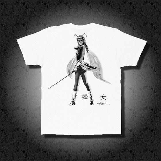 菅原芳人計画 蜂女Tシャツ