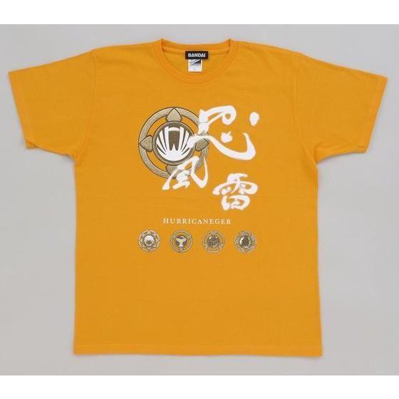忍風戦隊ハリケンジャー 忍風雷Tシャツ  (カラー)