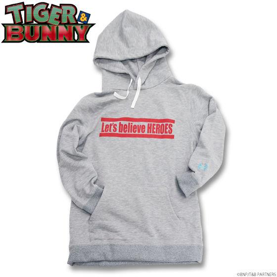 TIGER & BUNNY 「Let's believe HEROES」パーカー(プルオーバー)