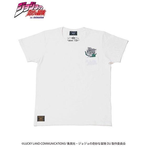 ジョジョの奇妙な冒険【GLAMB】Tシャツ ストレイ・キャット