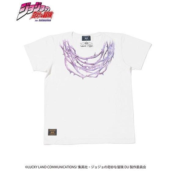 ジョジョの奇妙な冒険【GLAMB】Tシャツ ハーミットパープル