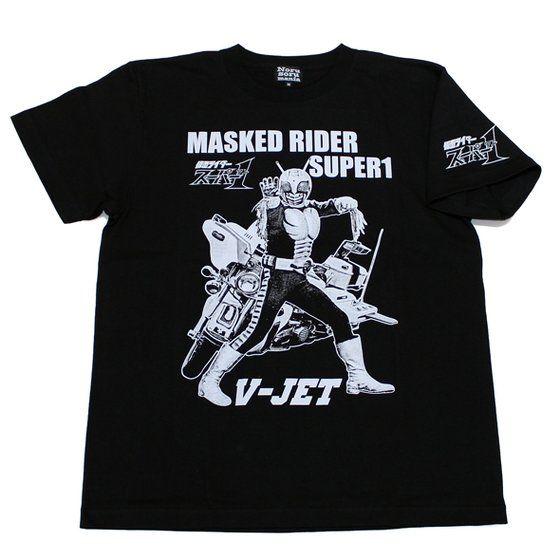 仮面ライダー×ノルソルマニア コラボ Tシャツ(仮面ライダースーパー1& Vジェット)