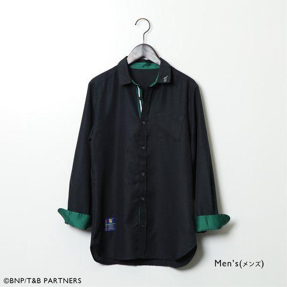 TIGER & BUNNY 飾りボタン付きドレスシャツ 【SOURCES GRIFFIN】